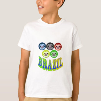 sloth faces for brazilian games T-Shirt