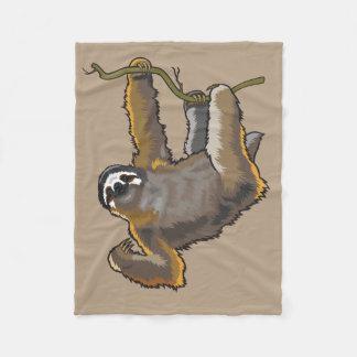 sloth fleece blanket