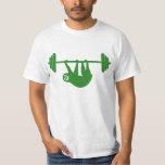 Sloth Gym tee (Green) T-shirt