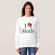 Sloth Heart Women's Sweatshirt