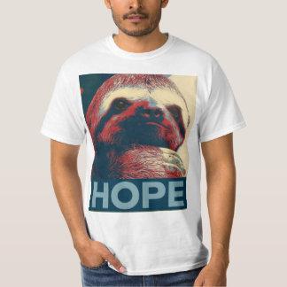 Sloth Hope Poster T-Shirt