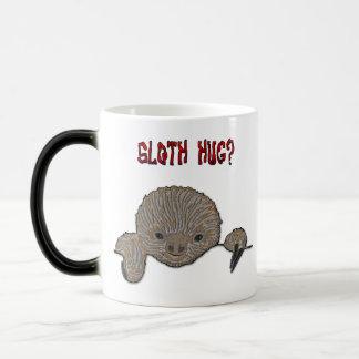 Sloth Hug Baby Sloth 11 Oz Magic Heat Color-Changing Coffee Mug