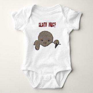 Sloth Hug Baby Sloth Baby Bodysuit