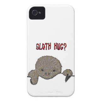 Sloth Hug Baby Sloth Case-Mate iPhone 4 Case