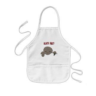 Sloth Hug Baby Sloth Kids' Apron