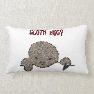 Sloth Hug Baby Sloth Lumbar Pillow