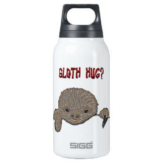 Sloth Hug Baby Sloth Sketch Insulated Water Bottle