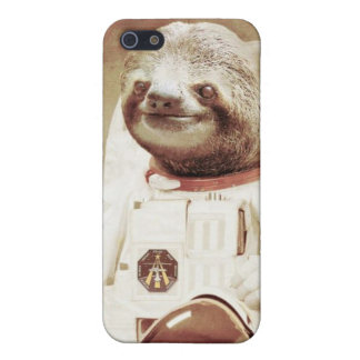 Sloth in space! case for iPhone SE/5/5s