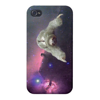 Sloth in Space iPhone 4 Cases