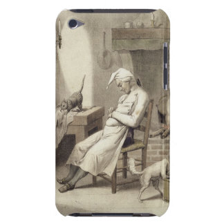 Sloth in the Kitchen, from a series of prints depi iPod Touch Case