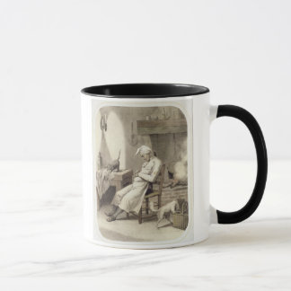 Sloth in the Kitchen, from a series of prints depi Mug