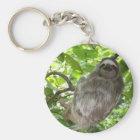 Sloth in Tree Keychain