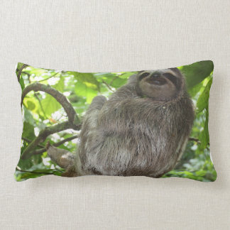 Sloth in Tree Lumbar Pillow