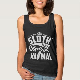 Sloth Is My Spirit Animal Tank Top