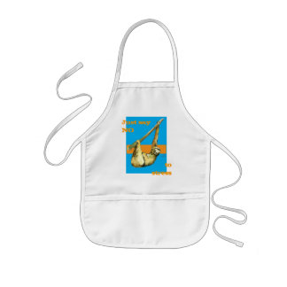 Sloth -Just Say NO Kids' Apron