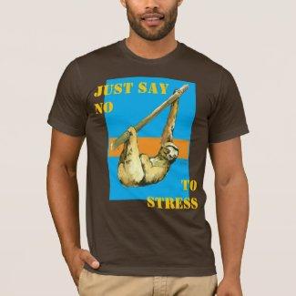 Sloth -Just Say No T-Shirt