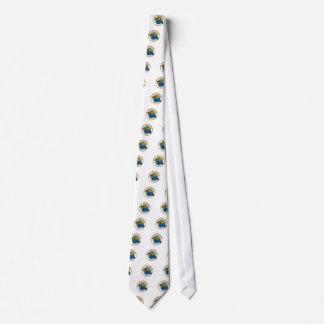 Sloth Karate Self Defense Badge Neck Tie