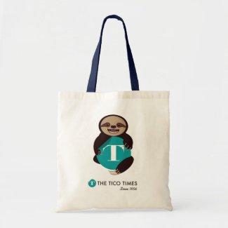 Sloth Kong reusable tote bag