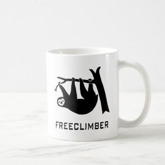 sloth lazy animal more climber more freeclimber fr coffee mug