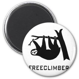 sloth lazy animal more climber more freeclimber fr magnet