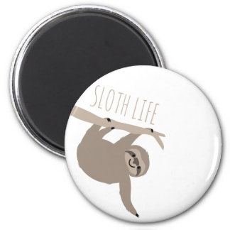 Sloth Life Magnet