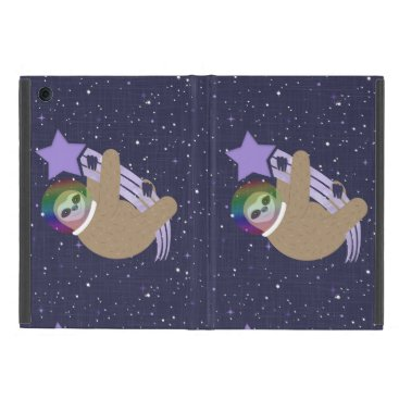 Sloth Life - Make a Wish Outer Space Case For iPad Mini