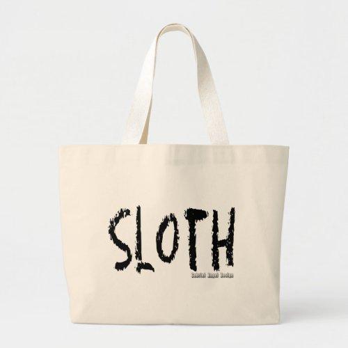 Sloth Logo Large Tote Bag