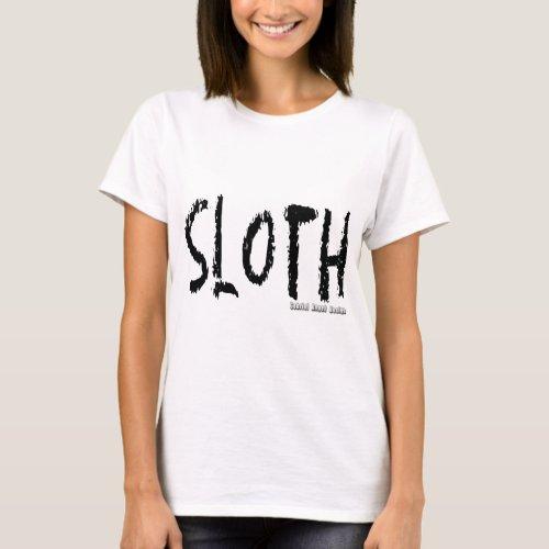 Sloth Logo T_Shirt