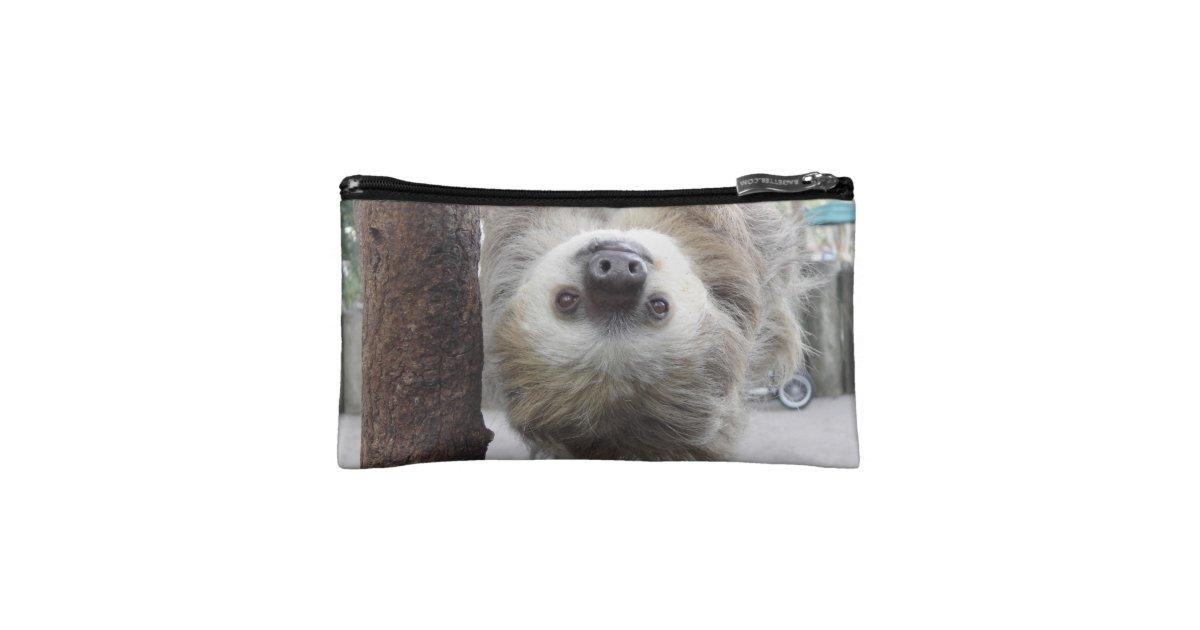 Sloth Makeup Bag : Zazzle