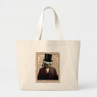 Sloth Man Victorian Steampunk Anthropomorphic Bag
