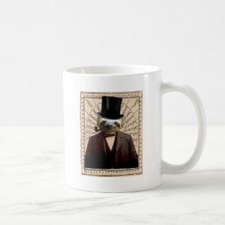 Sloth Man Victorian Steampunk Anthropomorphic Coffee Mug