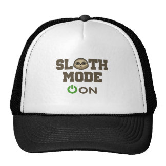 Sloth Mode On Trucker Hat