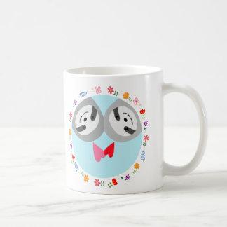 Sloth Mug Cute Sloth Couple Hearts Funny Sloth Mug