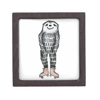 Sloth on Roller Skates Gift Box