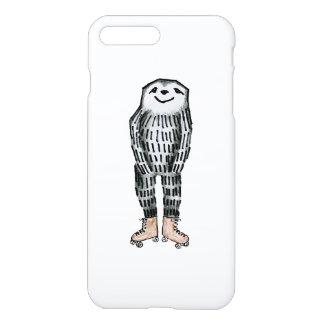 Sloth on Roller Skates iPhone 7 Plus Case