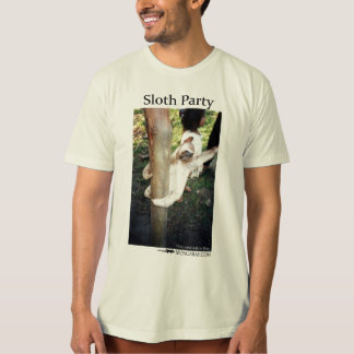 Sloth party shirt