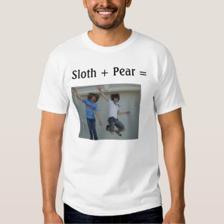 Sloth + Pear = SlothyPear T-Shirt
