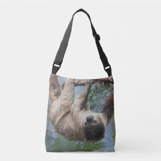 Sloth Photo Crossbody Bag