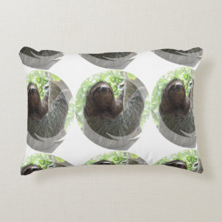 Sloth Photo Design Accent Pillow