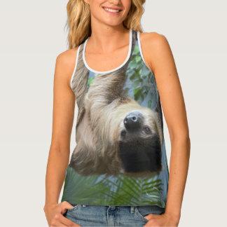 Sloth Photo Tank Top