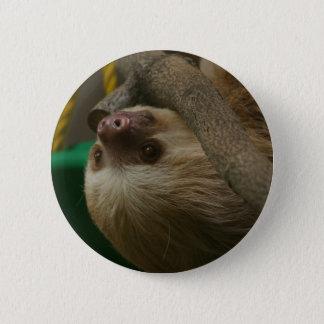 Sloth Pinback Button