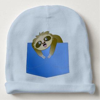 Sloth Pocket Pal Baby Hat