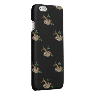 Sloth Print Phone Case (black)