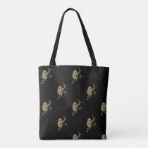 Sloth Print Tote Bag