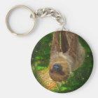 Sloth Rainforest Gifts Keychain