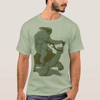 Sloth Riding a Turtle T-Shirt