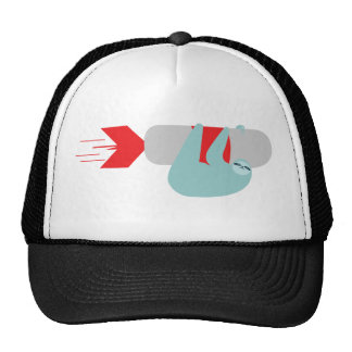 Sloth Rocket Trucker Hat