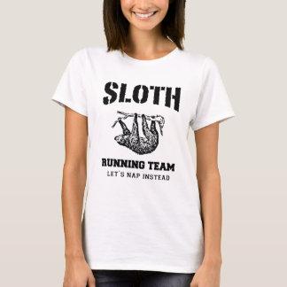 SLOTH RUNNING TEAM, LET'S NAP INSTEAD T-Shirt