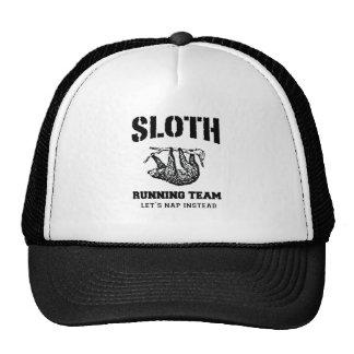 SLOTH RUNNING TEAM, LET'S NAP INSTEAD TRUCKER HAT