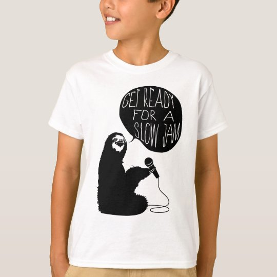 Sloth Slow Jam T-Shirt